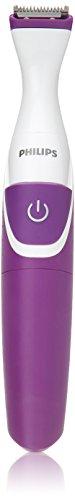 Philips Beauty BikiniGenie Cordless Bikini Trimmer for Women, Showerproof Hair Removal, BRT383/50
