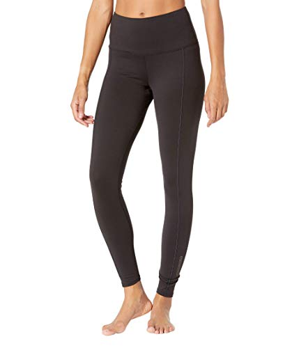 Hot Chillys Women's Clima-Tek Tight Midweight Relaxed Fit Base Layer, Black, X-Small