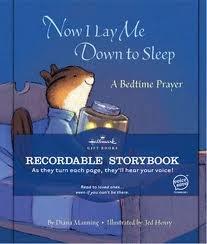 Hallmark Recordable Storybook, 'Now I Lay Me Down to Sleep'