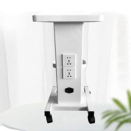 Beauty Salon Rolling Stand Trolley Center Use Cart For Cavitation Machine Cart Home & Salon Use With plug USA STOCK