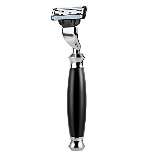 ACRIMAX Luxury Shaving Razors for Men, Men's Razors Blades Refills and Anti Slip Razor Handle Compatible for Mach 3 Blades