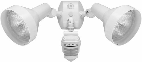 Rab STL360HW 360 Degree 2-Head Super Stealth Outdoor Sensor 1000 Watt 120 Volt White