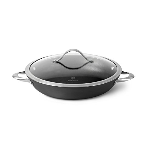 Calphalon Everyday Pan, 12-inch, Silver/Gray