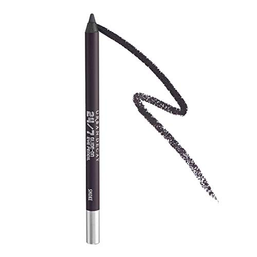 Urban Decay 24/7 Glide-On Eyeliner Pencil, Smoke - Deepest Gray with Matte Finish - Award-Winning, Waterproof Eyeliner - Long-Lasting, Intense Color