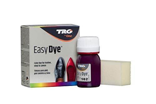 TRG Easy Dye for Leather and Canvas Shoes and Accessories (102 - Dark Lilac)