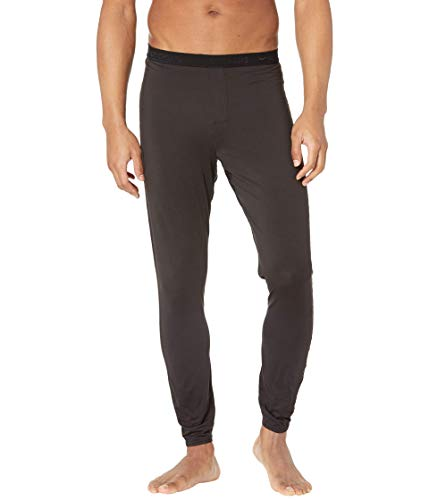 Hot Chillys Men's Clima-Tek Bottom Midweight Relaxed Fit Base Layer, Black, Medium