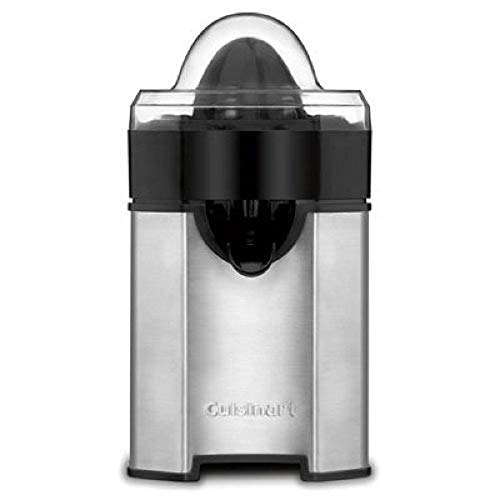 Cuisinart CCJ-500 Pulp Control Citrus Juicer, Brushed Stainless, Black/Stainless, 1 Piece