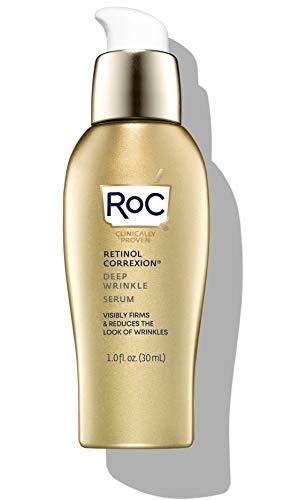 RoC Retinol Correxion Deep Wrinkle Facial Serum with Retinol, 1 Fl Oz