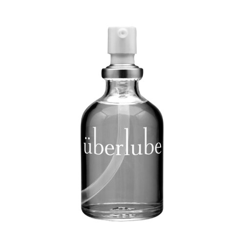 Überlube Luxury Lubricant | Latex-Safe Natural Silicone Lube with Vitamin E | Unscented, Flavorless, Zero Residue, Works Underwater - 50ml
