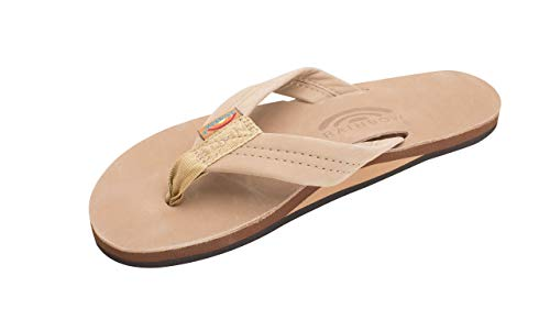 Rainbow Sandals Women Premium Leather Single Layer - Sierra Brown X-Large