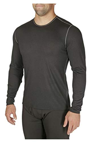 Hot Chillys Pepper Skin Crewneck - Men's Black 2X-Large