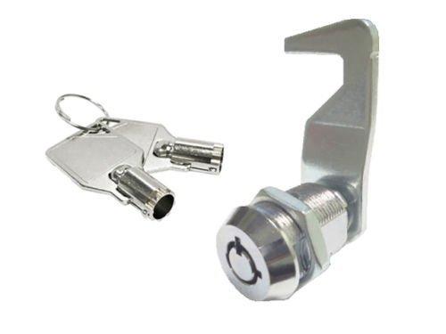 Tool Box, 5/8' Tubular Cam Lock 90 Degree,Hook cam; Replacement Lock, KA