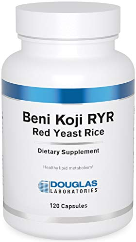Douglas Laboratories - Beni Koji Red Yeast Rice - Fermented Red Yeast Rice to Support Healthy Blood Lipid Levels - 120 Capsules