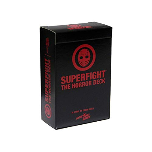Superfight Horror Deck: 100 Themed Cards for The Game of Absurd Arguments | for Teens and Adults, 3 or More Players Ages 13+