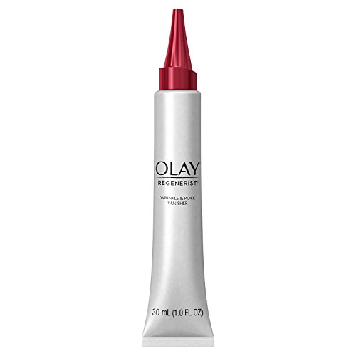 Wrinkle Cream by Olay Regenerist Instant Fix Wrinkle & Pore Vanisher, 1.0 Fl Oz Packaging may Vary