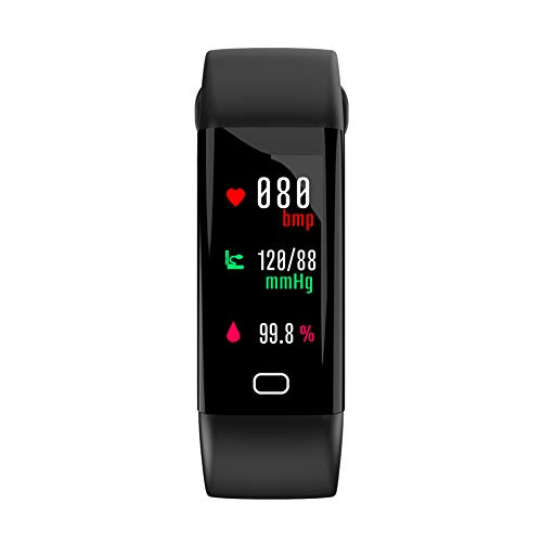 Smart Watch for iOS Android, Heart Rate Monitor Blood Pressure Fitness Tracker, Men Women Smart Bracelet