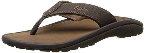OLUKAI Men's Ohana Sandals, Dark Java/Ray, 11