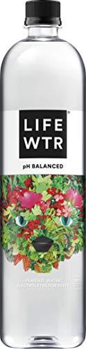 LIFEWTR, Premium Purified Water pH Balanced with Electrolytes For Taste, 1 Liter bottles (6 Pack)