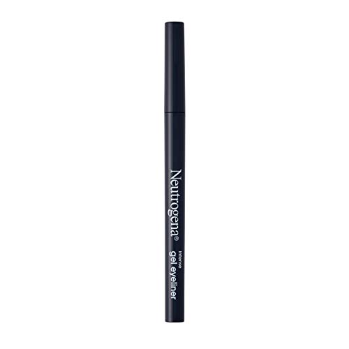 Neutrogena Intense Gel Eyeliner with Antioxidant Vitamin E, Smudge- & Water-Resistant Eyeliner Makeup for Precision Application, Smokey Gray, 0.004 oz