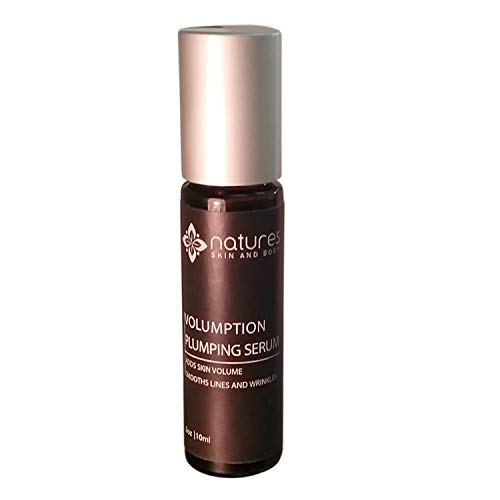 Volumption-A Plumping Serum That Helps Add Volume To Subcutaneous Fat-Filling In Deep Wrinkles And Fine Lines Around The Mouth, Face Lips And Neck-All Natural Organic Ingredients-Best Anti Aging Serum