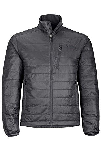 Marmot Men's Calen Insulated Puffer Jacket, Jet Black, X-Large