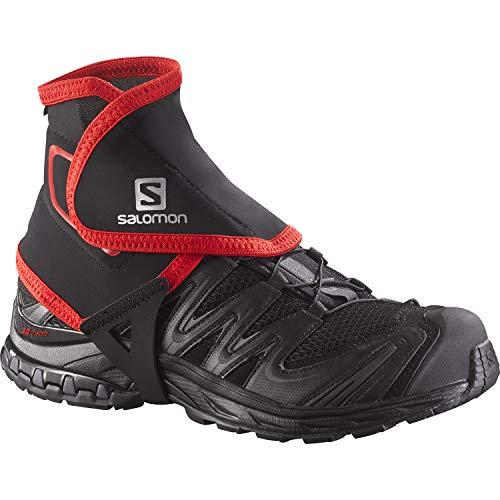 Salomon High Trail Gaiters, Black, Small, Size 4.5-7