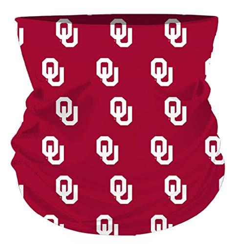 Rico Oklahoma Sooners NCAA Neck Gaiter Scarf Pack of 2