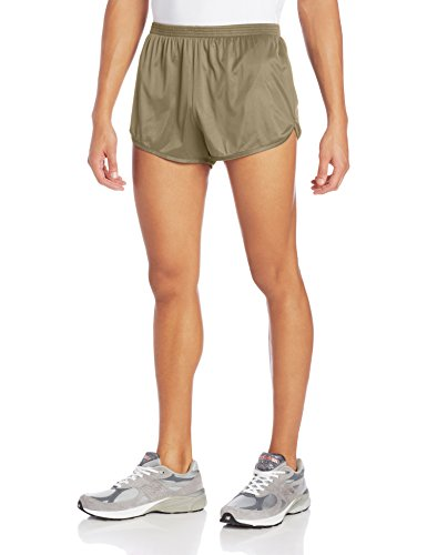 SOFFE Men's Ranger Panty Running Short,Tan,Large