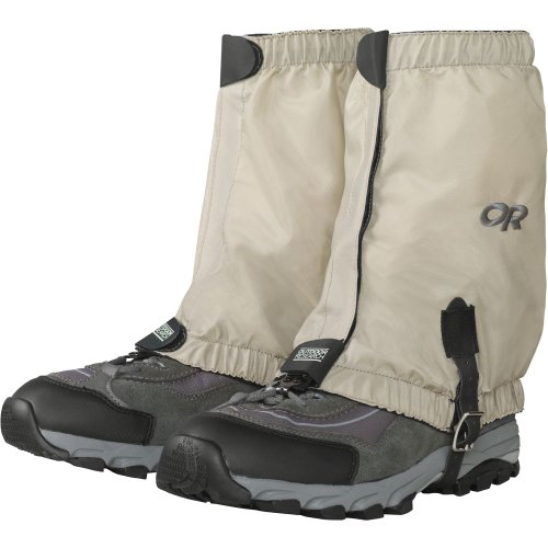 Outdoor Research Bugout Gaiters, Tan, S
