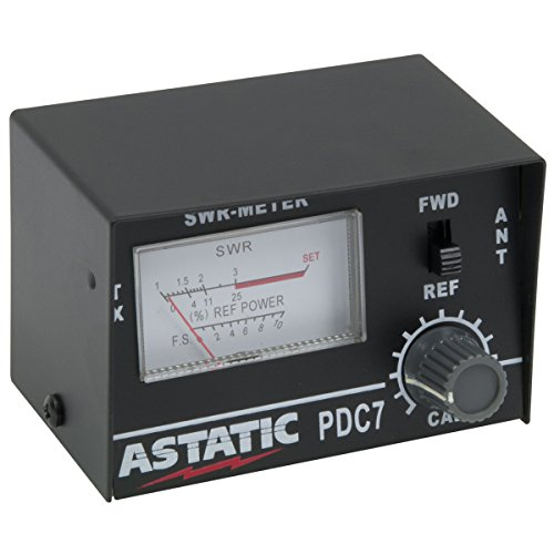 Astatic 302-01768 PDC7 Compact SWR Meter