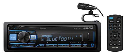 ALPINE UTE-73BT Digital Media Advanced Bluetooth Car Receiver w/AUX/USB+Remote