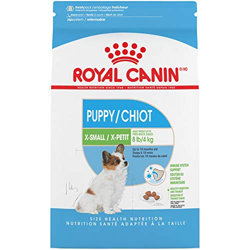 Royal Canin X-Small Puppy Dry Dog Food, 15 Pounds.