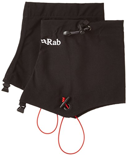 Rab Hunza Stretch Mid Gaiter - Men's, Black, Large, ASR-G29-BL-L