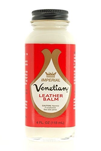 DaLuca Venetian Imperial Leather Balm, Neutral, 4 Ounces