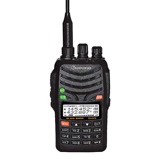 WOUXUN KG-UV7D 136-174&375-512mhz Amateur Handheld Transceiver, Dual Band Dual Display Dual Standby Two Way Radio