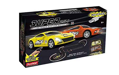 Joysway Super 251 USB Power Slot Car Racing Set
