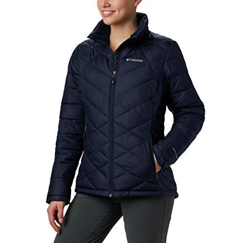 Columbia Women's Heavenly Jacket, Dark Nocturnal, Large