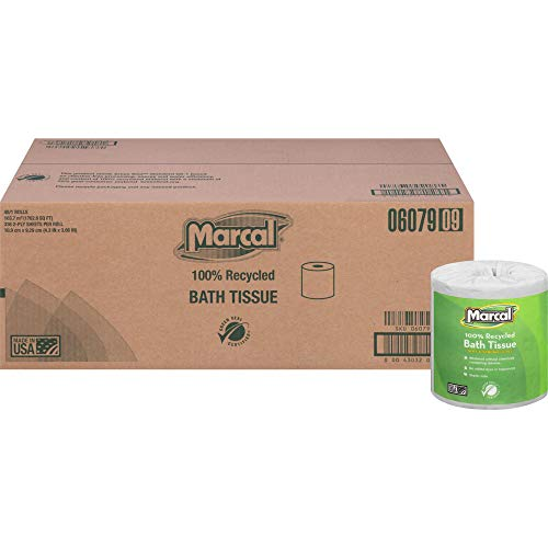 Toilet Paper 2 Ply - 336 Sheets/Roll - White - Soft, Lint-free, Septic Safe - For Washroom - 48 / Carton - 1 Case