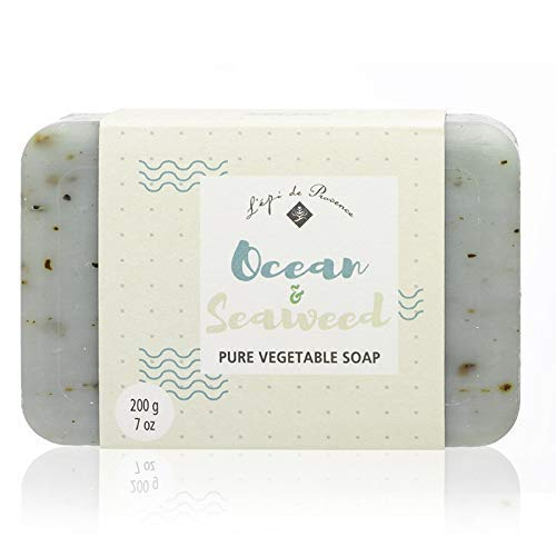 L'Epi de Provence 200g Ocean Seaweed Shea Butter Enriched Triple Milled French Soap