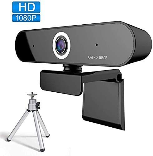 Webcam with Microphone 1080P FUVISION,Stream Webcam,Computer Camera for Video Conferencing,Recording and Streaming,Web Cam with 90 Degree Extended View,HD Webcam for PC,Laptop and Desktop