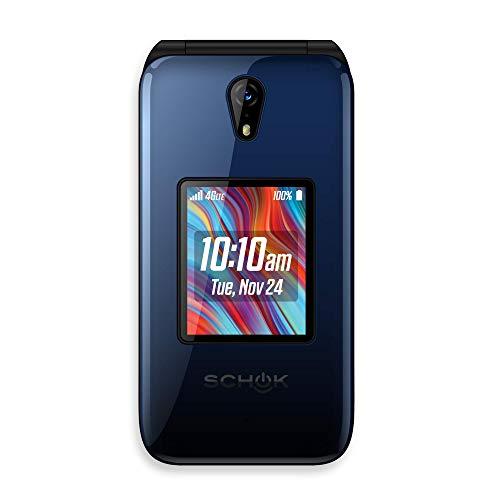 Schok Classic Flip Phone 4G/LTE (Brand Certified, New)