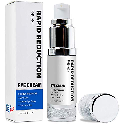 Viebeauti Rapid Reduction Cream-Instantly and Visibly Reduce Under-Eye Bags, Wrinkles, Dark Circles, Fine Lines & Crow's Feet,