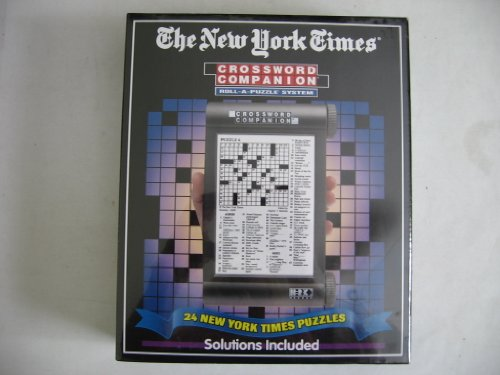 The New York Times Crossword Companion Roll-A-Puzzle System Volume 1