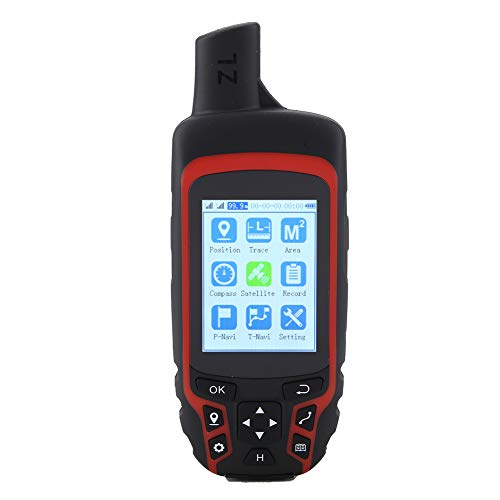 A6 Handheld GPS Navigation,Outdoor Mini GPS Tracker,with USB Rechargeable AC 110V Plug, Fully Upgrades,for Outdoor,Agriculture,Forestry,Geology,Communication