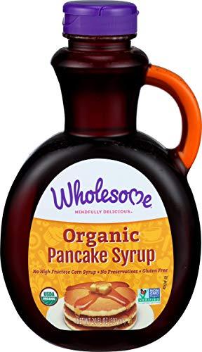Wholesome Sweeteners Pancake Syrup - Original - 20 OZ