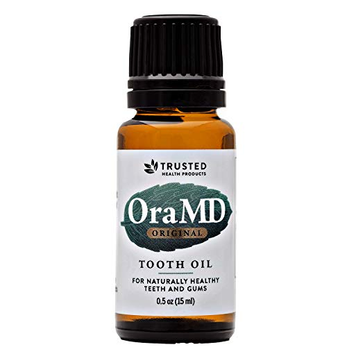 OraMD Original Dentist Recommended Worldwide 100% Pure Breath Freshener for Bad Breath, Halitosis Canker Sores, Gum Boils and Tooth Abscesses - 1 Bottle