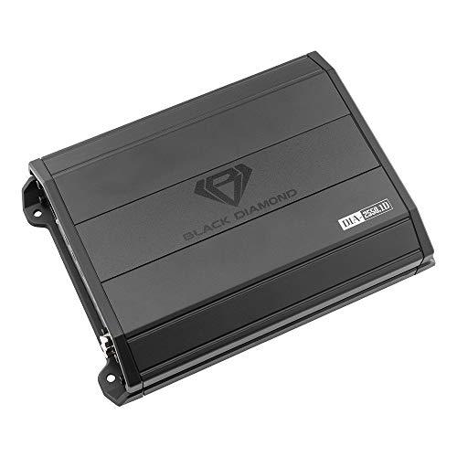 Black Diamond DIA-2550.1D Car Audio Amplifier – 1 Channel, Monoblock, Class D, 2550 Watts, Remote BASS Knob Included