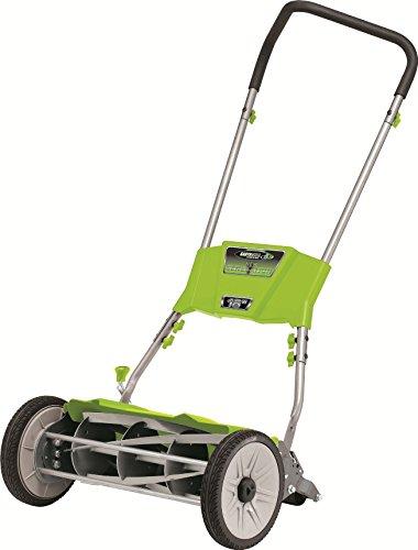 Earthwise 515-18 18-Inch Quiet Cut Push Reel Lawn Mower
