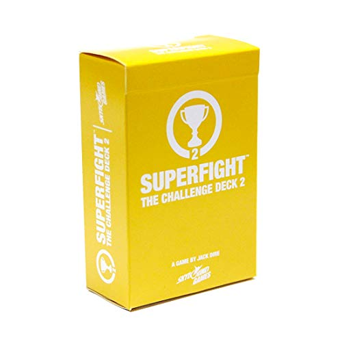 Superfight Challenge Deck 2: 100 New Condition Cards for The Game of Absurd Arguments | Expansion for Kids Teens Adults, 3 or More Players, Ages 8+