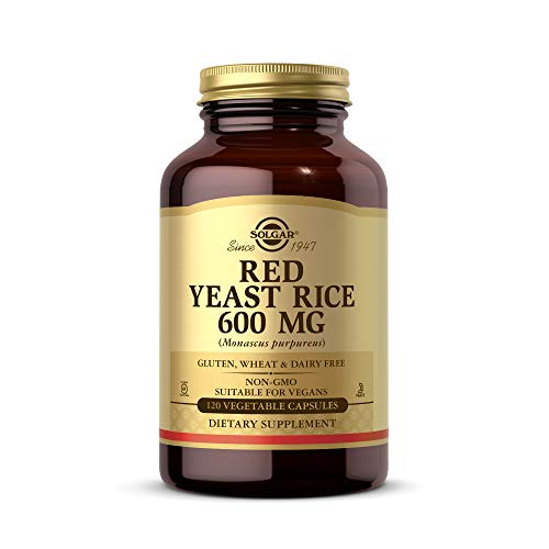 Solgar – Red Yeast Rice, 120 Vegetable Capsules